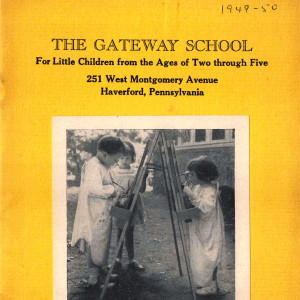 Vintage Brochure for The Gateway School (1949-1950)