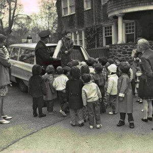 In the 1960s, our kids were delighted by a visit from a Lower Merion policeman and his cruiser.